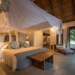 Luangwa River Camp Bed on Zambia Safari