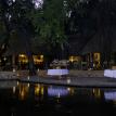 Tongabezi Lodge Victoria Falls outside dining