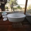 Victoria Falls River Lodge Bathroom with a view