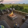 Vumbura Plains Camp Okavango Delta deck