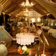 Denis Island indoor dining